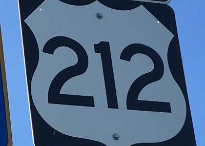 U.S. Highway 212 sign