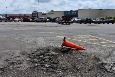 Hutchinson Mall parking lot