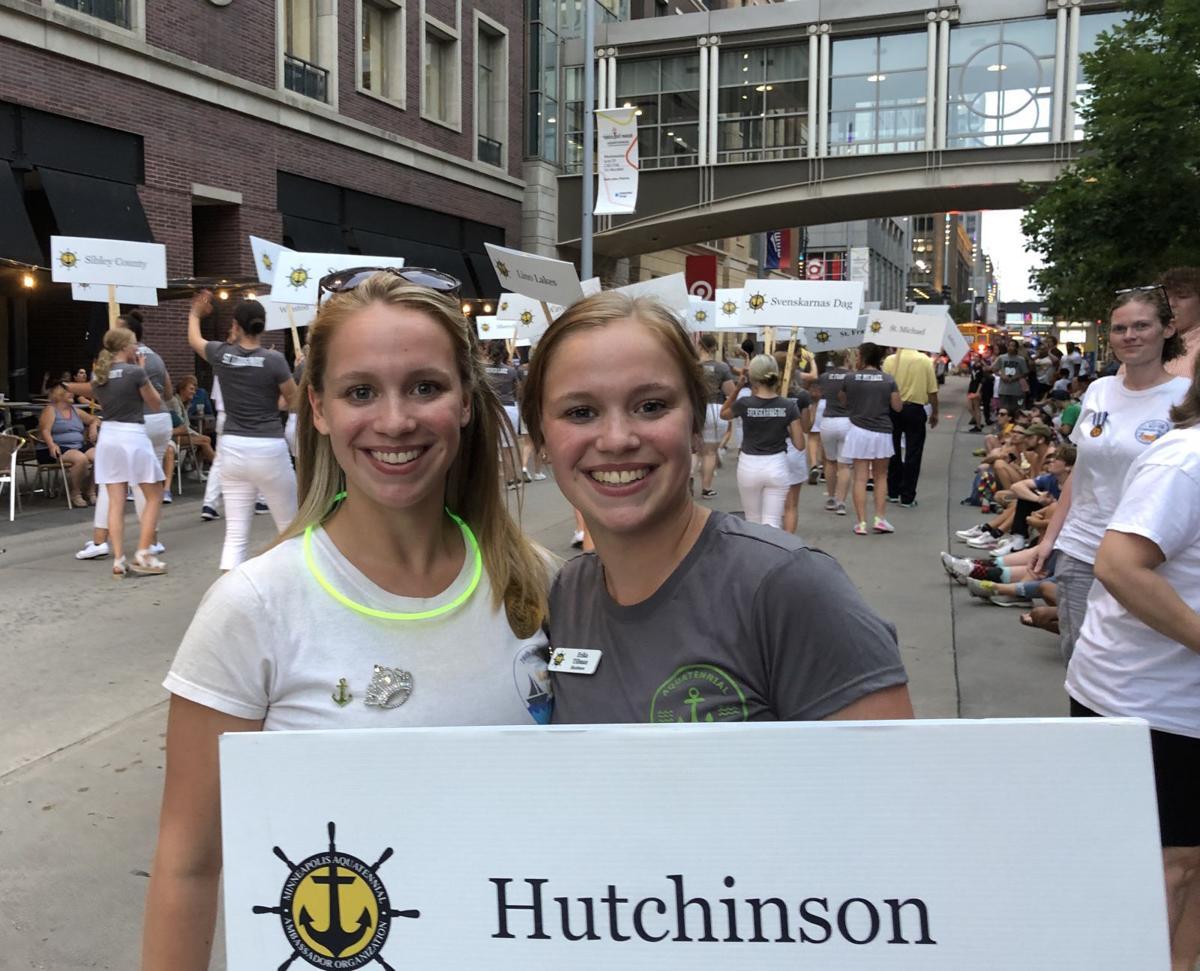 Tillmann sisters at Aquatennial