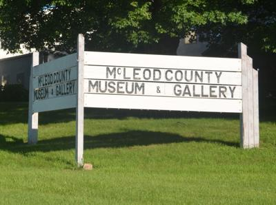 McLeod County Museum sign