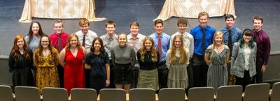 New HHS National Honor Society inductees