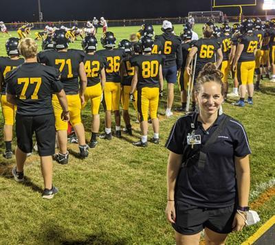 Amy Rogotzke saves a life
