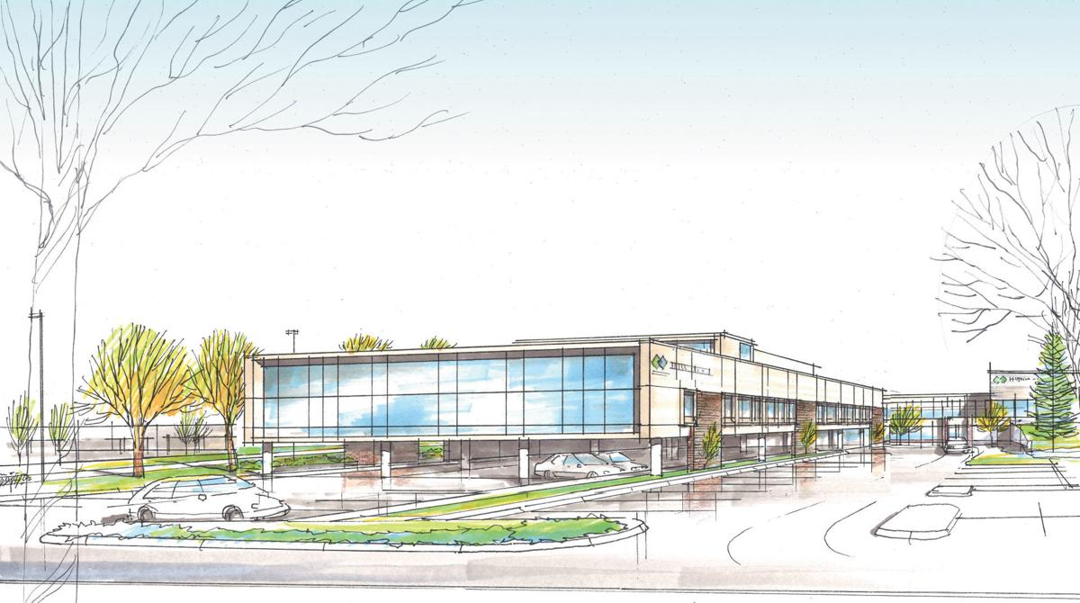 Hutchinson Health expansion rendering