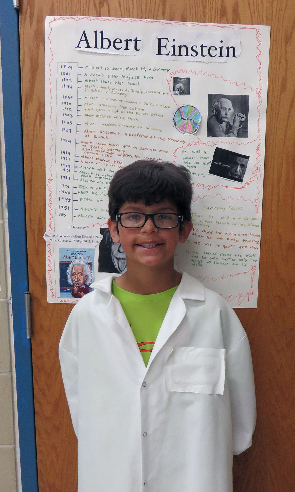 Fourth graders present Living Wax Museum ...
