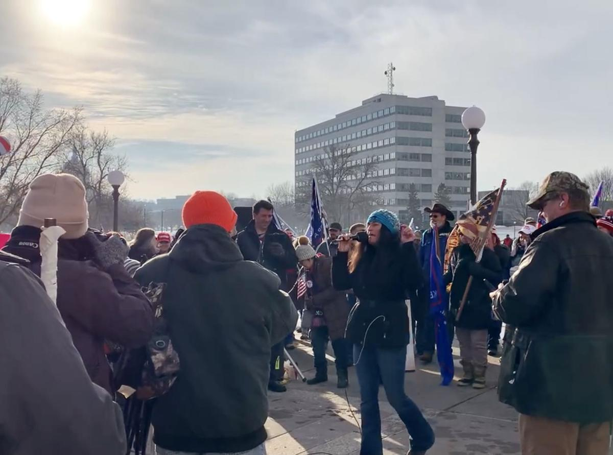 'Storm the Capitol' rally in St. Paul