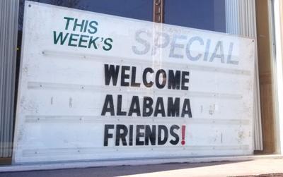 Welcome, Alabamians