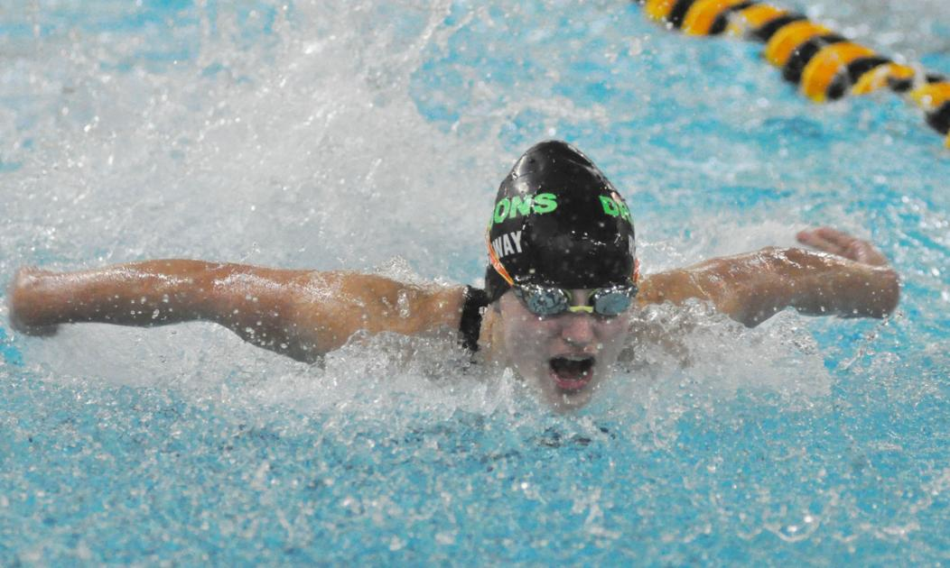 GIRLS SWIMMING: Relay earns medals at section finals ...