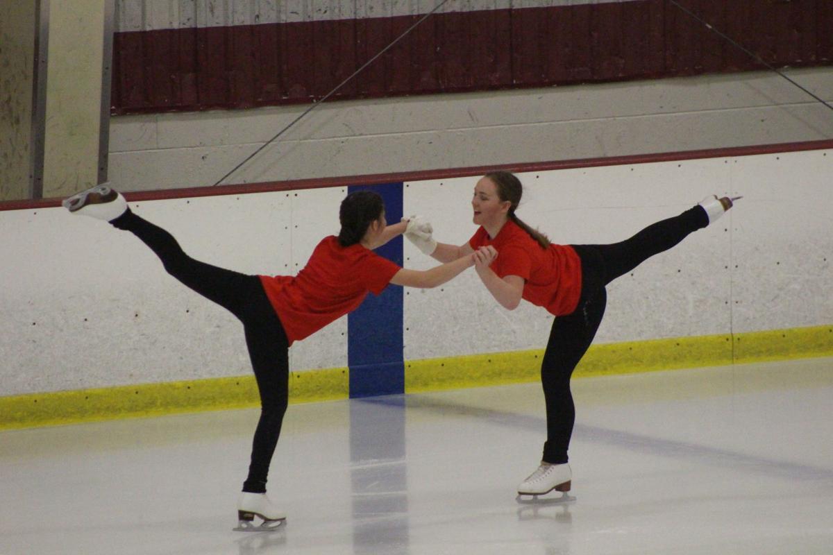 Bacon and Heinbaugh skating