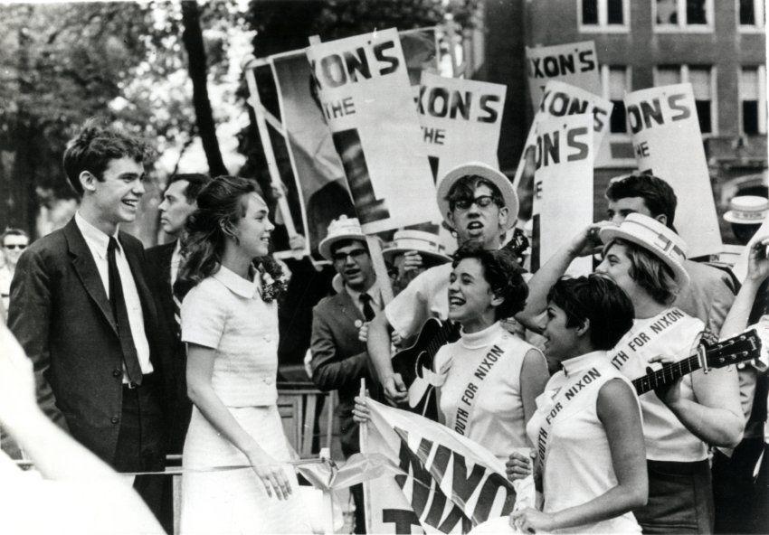 David Eisenhower and Julie Nixon