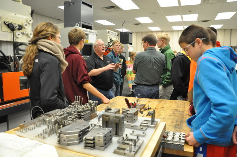 Made in McLeod tour visits 3-D CNC