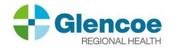 Glencoe Regional Health new logo