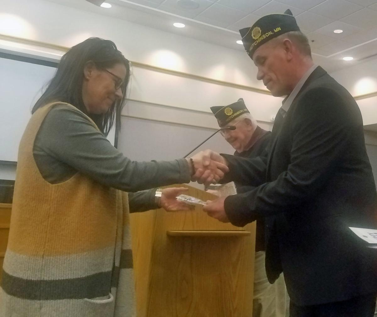 American Legion honors its relationship with Hutchinson schools