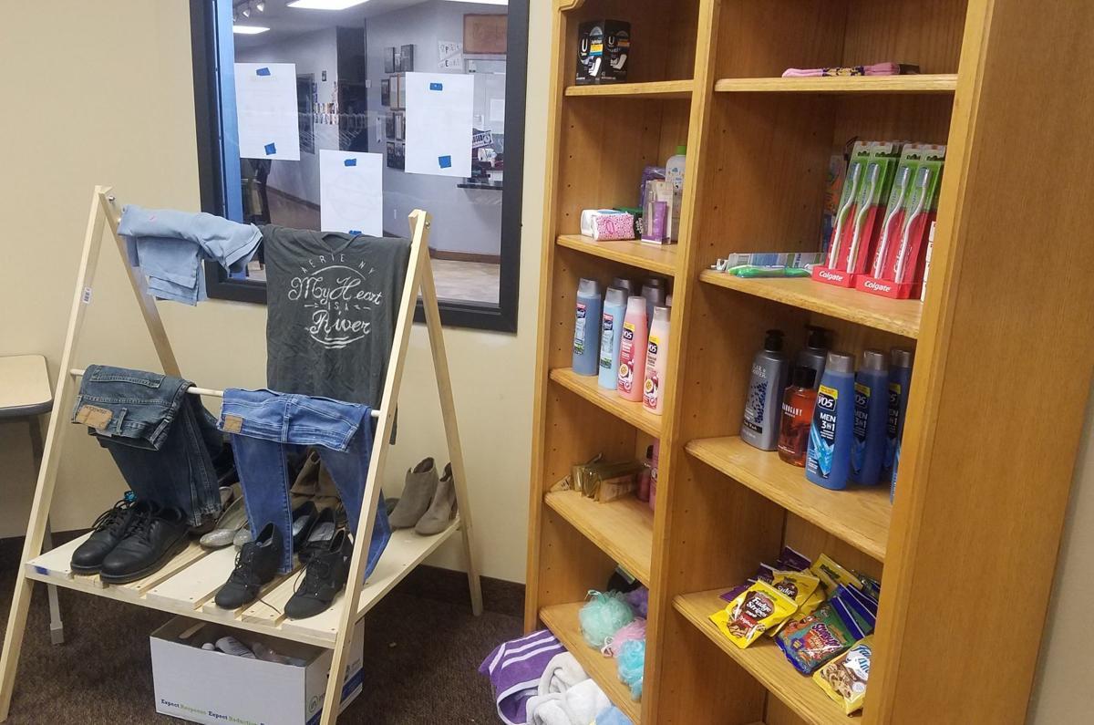 Shelves at NCA