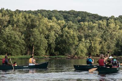 outdoors, kayaking
