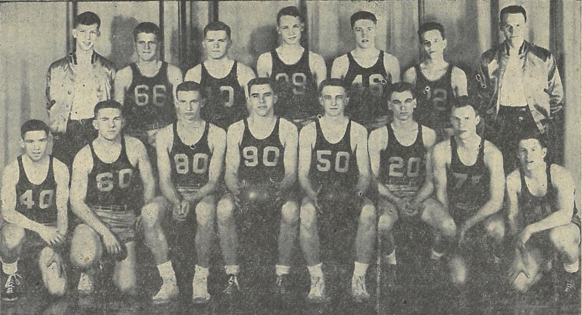 1944-45 Hutchinson boys basketball team