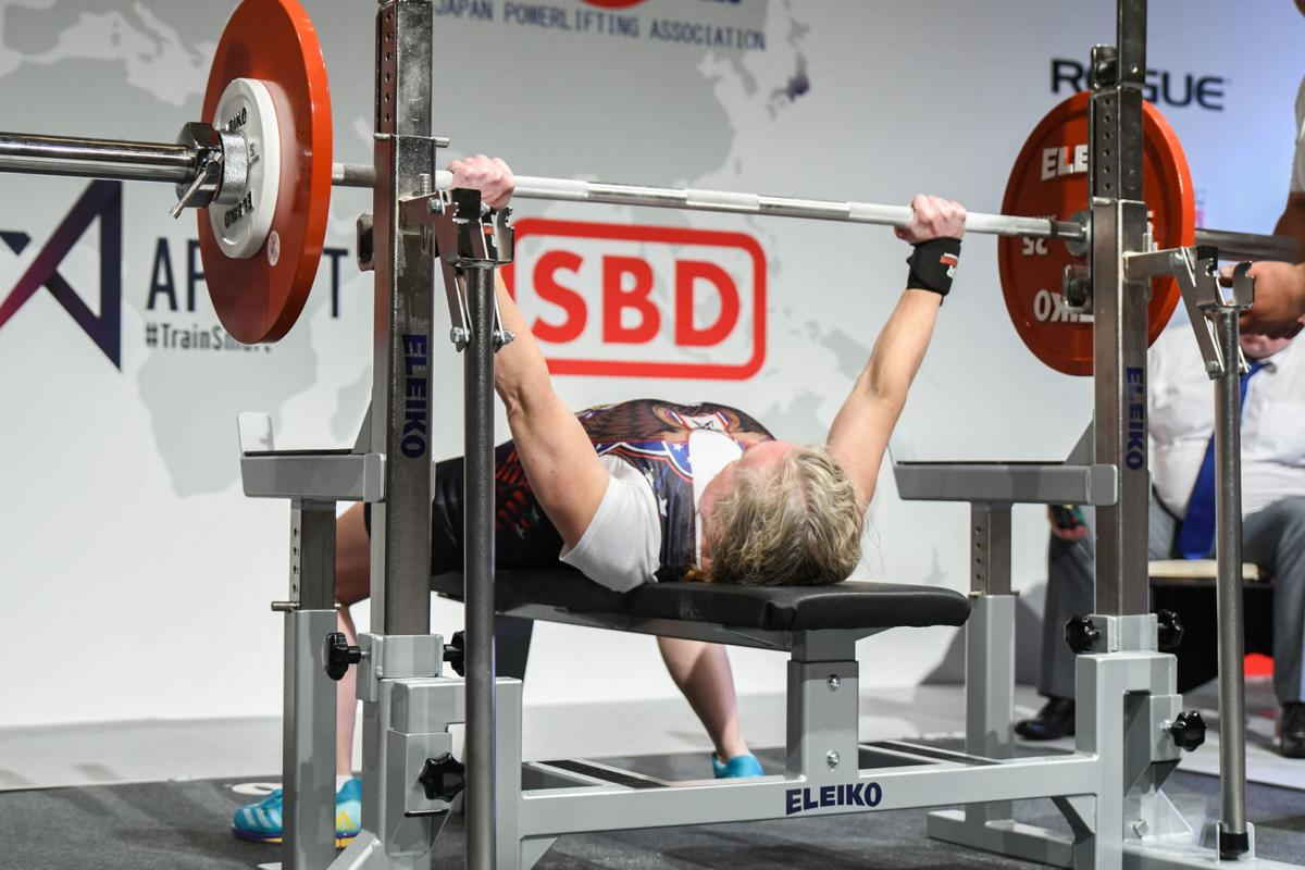 Tammy Lauer bench press