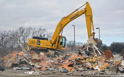 KFC demolition
