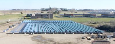 Hutchinson solar array