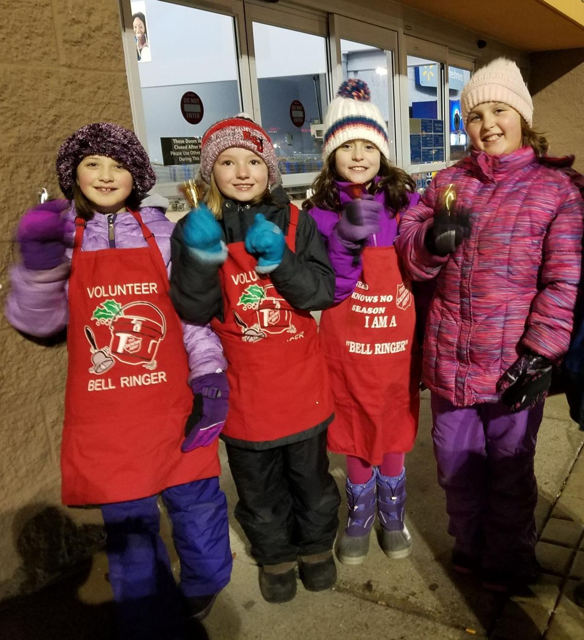 Ringing the Red Kettle Bell