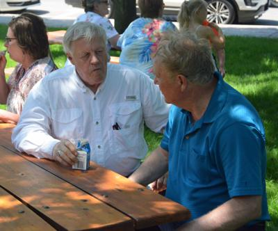 Peterson and Urdahl at Dairy Day