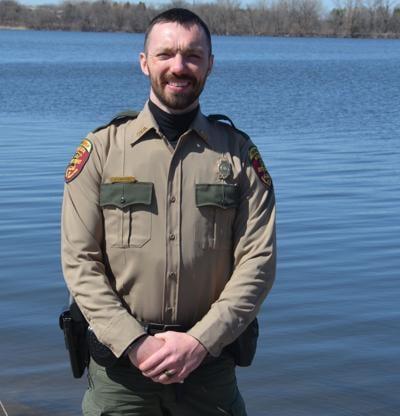 DNR officer Zach Larson