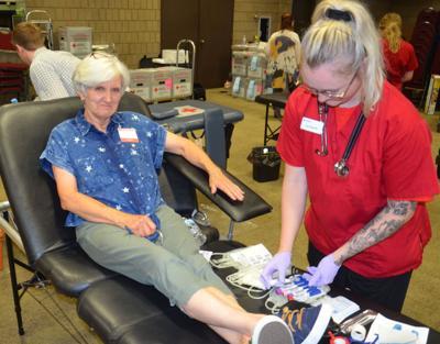 McGraw blood donation