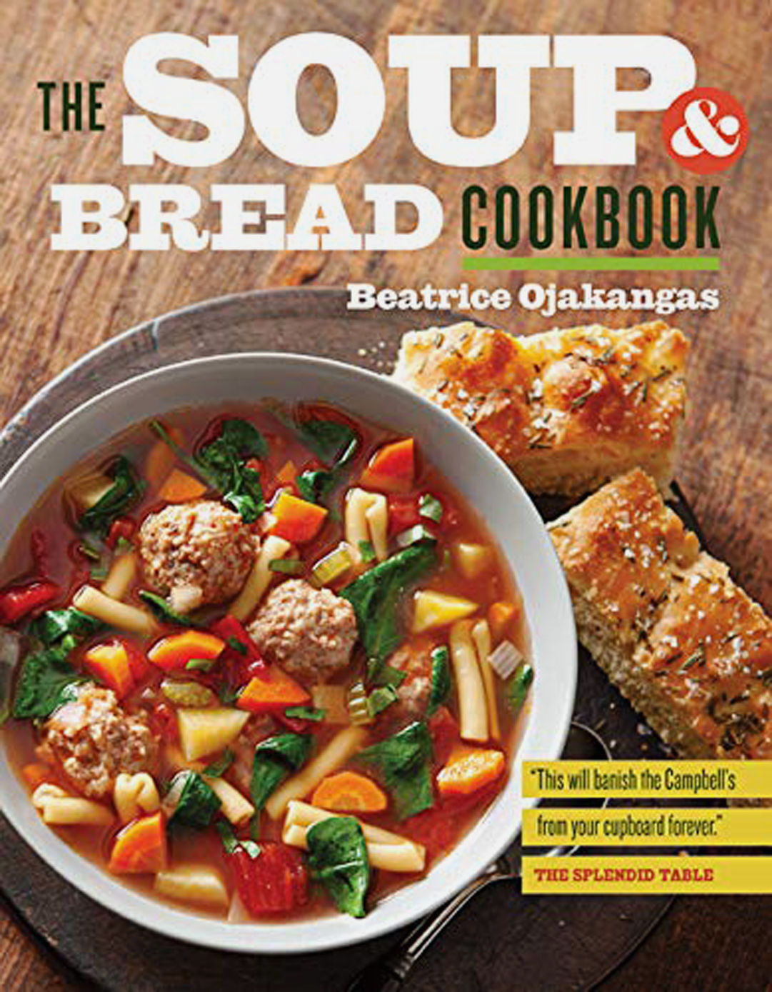 Soup and Bread cookbook cover