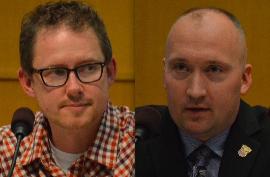 Hutchinson City Council Seat 4 candidates Chad Czmowski and Jared Golde
