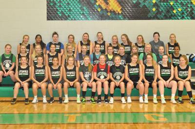 Litchfield girls basketball team photo 2019