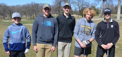 2021 Hutchinson boys golf team