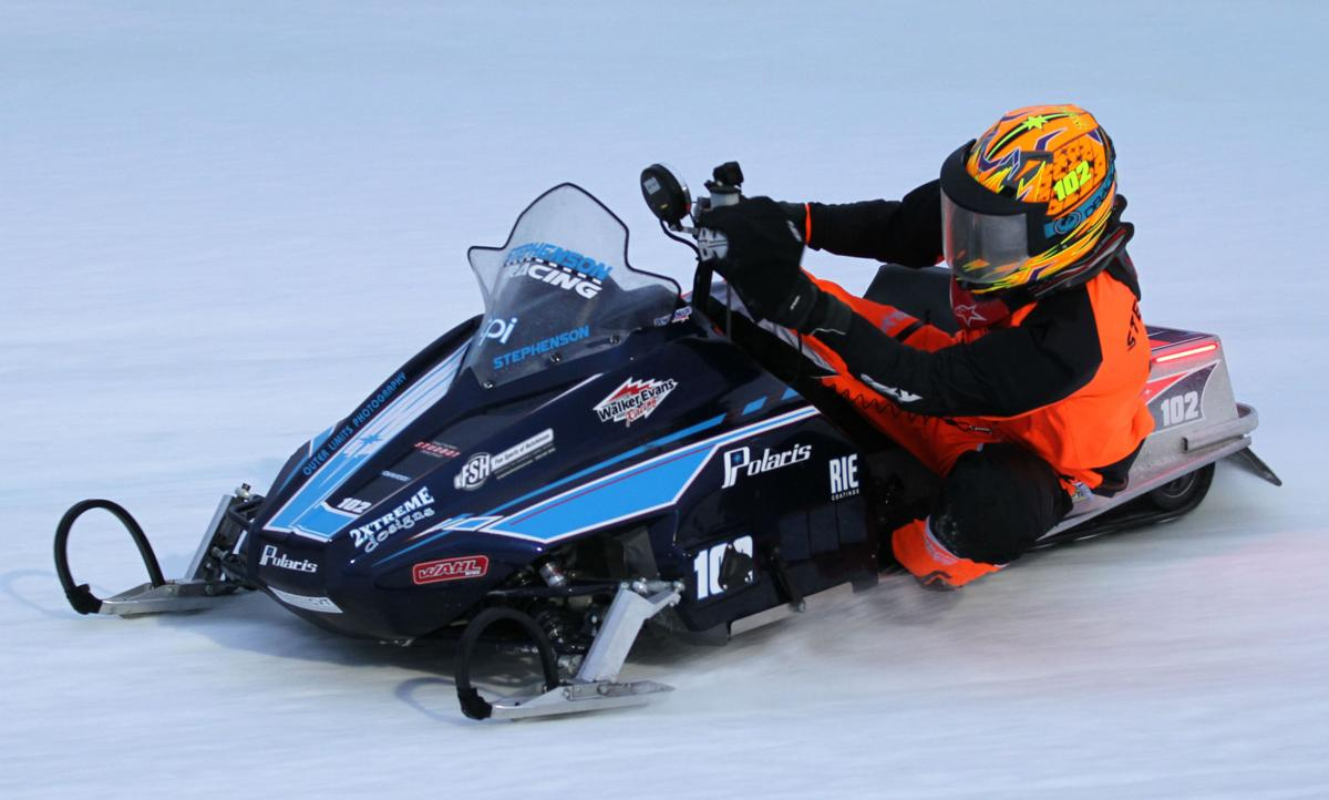 Stephenson overcomes traumatic injury, crowned snowmobile