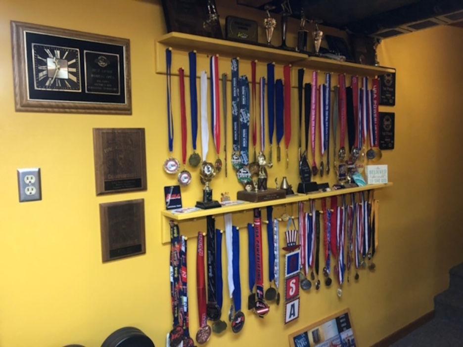 Lauer's medals