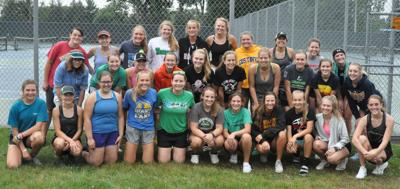 2019 Litchfield girls tennis team