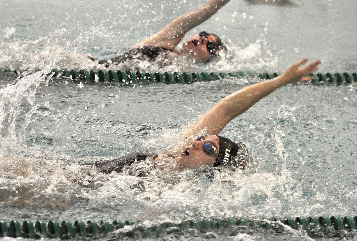 Lagergren swims