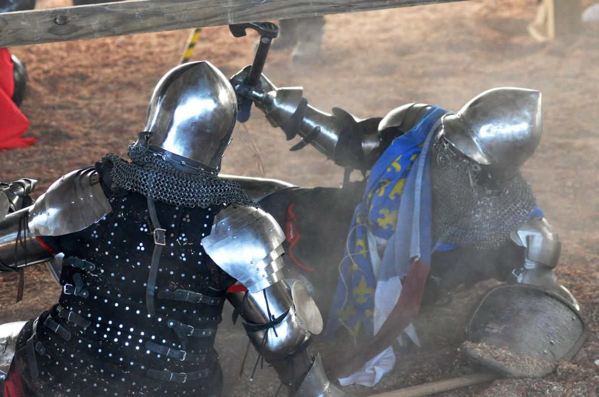 Knights down
