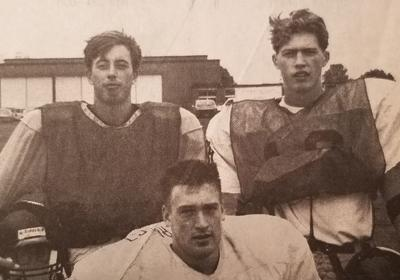 Tiger tri-captains 1994