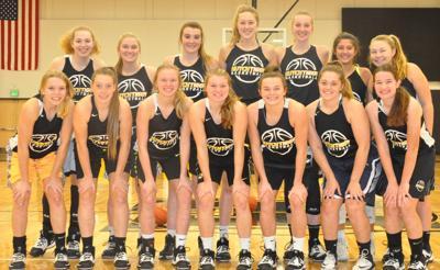 2019-20 girls basketball team photo