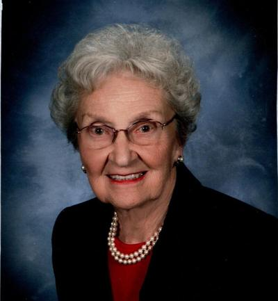 Irene Scharmer, 96