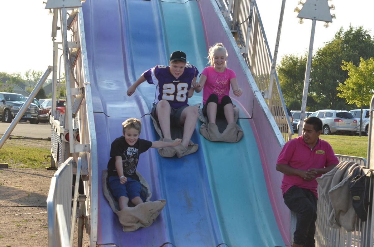 Sliding into the fair