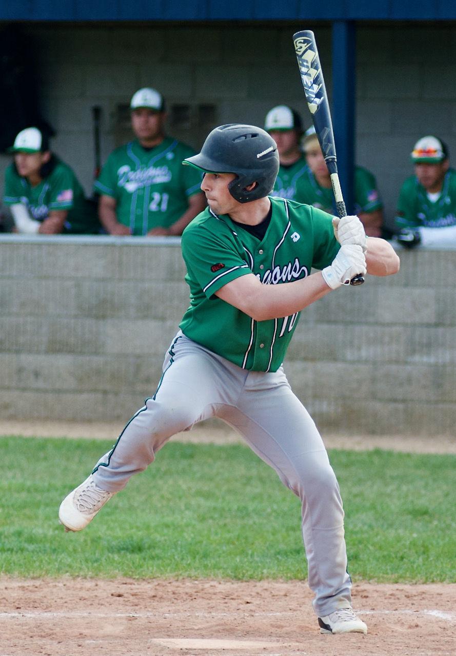 Bennett Lecher batting