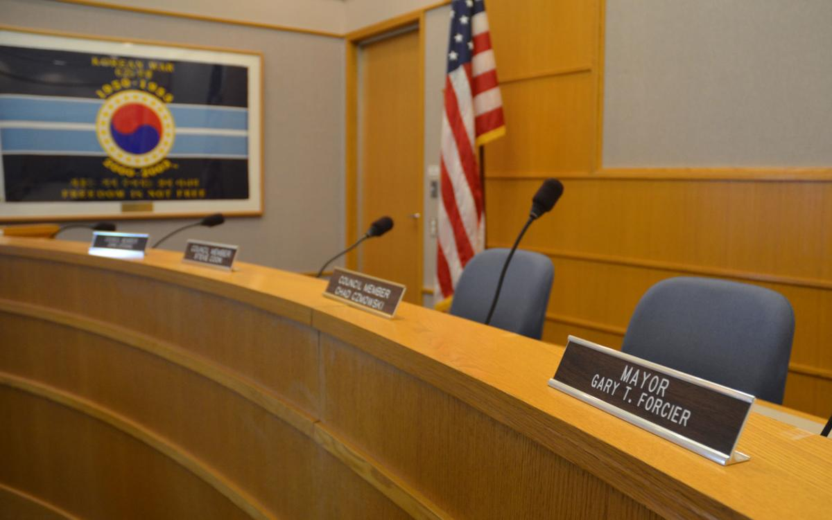 Hutchinson City Council chamber