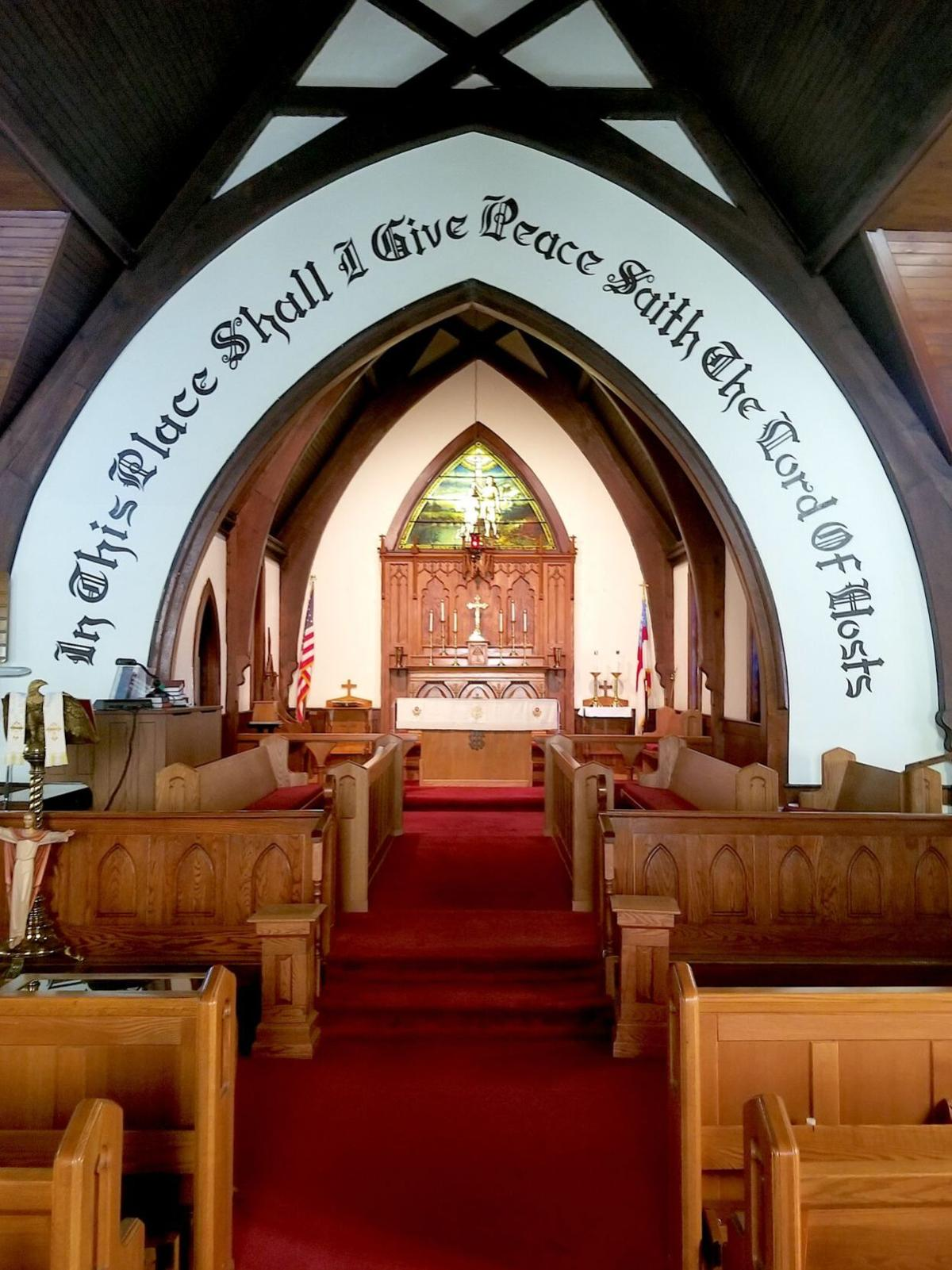 Triinity Episcopal sanctuary