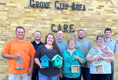Bird house donation