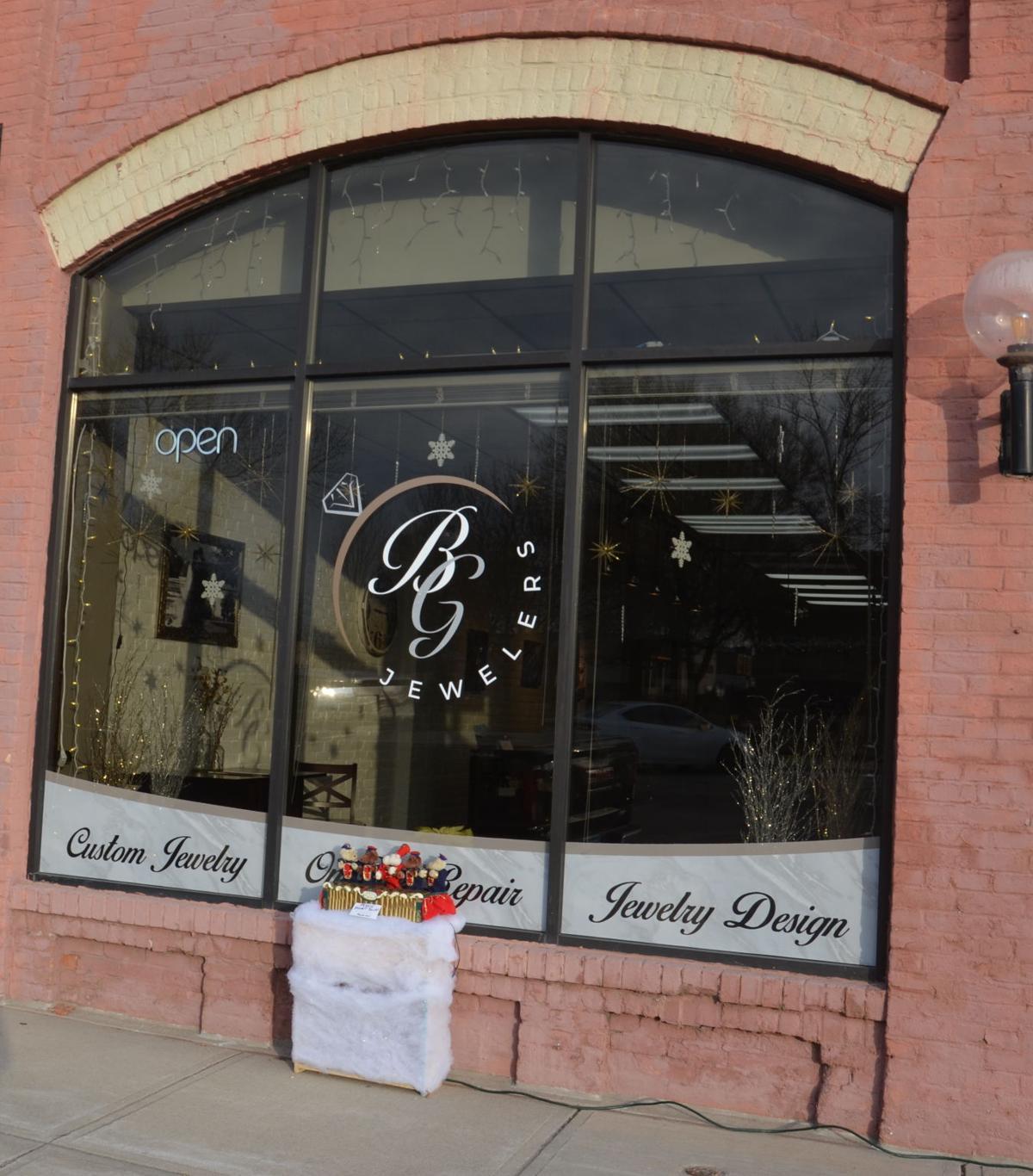 BG Jewelry storefront