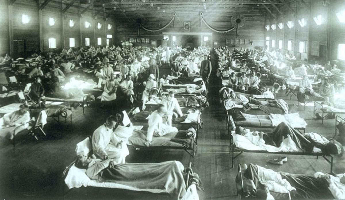 Spanish influenza ward