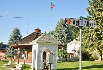 Weird Alley Sign