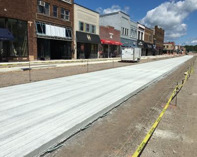 Main Street reconstruction July 24