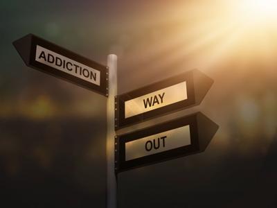 Addiction recovery art