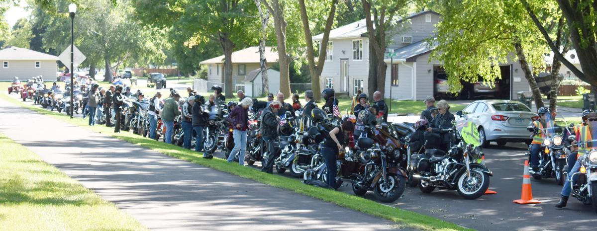 Tribute to the Troops 64 motorcycles