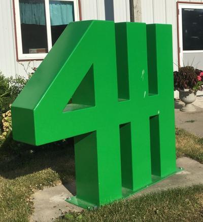 4-H statue